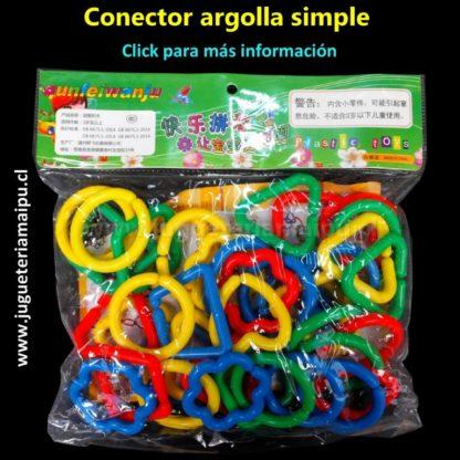 Didáctico conectores argolla