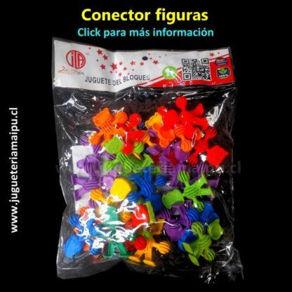 Didáctico conectores figuras manos