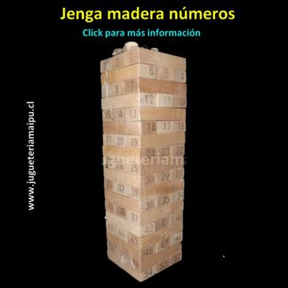 jenga madera números