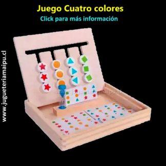 Juego cuatro colores